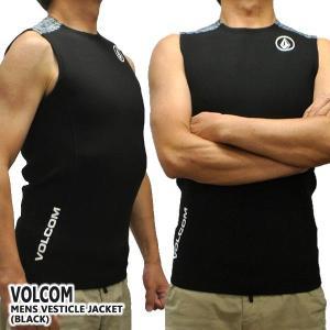 VOLCOM/ボルコム VESTICLE JACKET メンズ ベストタッパー 1.5mm   カラ...