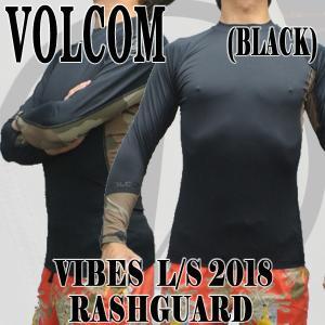 値下げしました!VOLCOM/ボルコム メンズ長袖ラッシュガード VIBES L/S RASHGUARD CAM UPF50+ 男性用水着 UVカット 311701|surfingworld