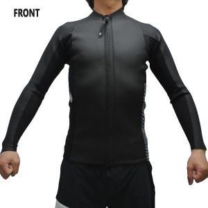 VOLCOM/ボルコム STONE ZIP JACKET BLACK メンズ長袖タッパー 男性用サーフィン用ウェットスーツ 送料無料!! surfingworld 02