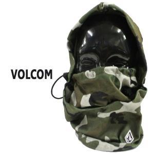 VOLCOM/ボルコム TRAVELIN HOOD THINGY CMG フード付き ネックウォーマ...