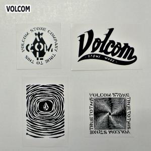 VOLCOM/ボルコム STICKER 4枚セット (C) ステッカー スケボー ヴォルコム ビニールシール VOLCOMSTONE|surfingworld
