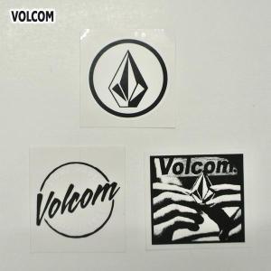 VOLCOM/ボルコム STICKER 3枚セット (E) ステッカー スケボー ヴォルコム ビニールシール VOLCOMSTONE|surfingworld