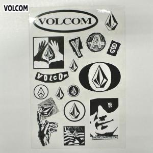 VOLCOM/ボルコム STICKER SHEET (F) ステッカーシート 1枚シートタイプ スケボー ヴォルコム ビニールシール|surfingworld