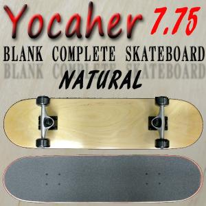 YOCAHER  コンプリート スケートボード 完成品  BLANK COMPLETE SKATEB...