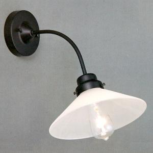 後藤照明 電柱型ブラケット(外消し硝子)アンティークランプ球60W付属(白熱球)|surouweb