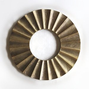 FUTAGAMI 真鍮の生活用品 鍋敷き 「太陽」 surouweb
