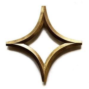 FUTAGAMI 真鍮の生活用品 鍋敷き 「星」 surouweb