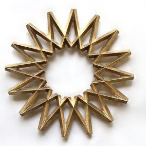 FUTAGAMI 真鍮の生活用品 鍋敷き 「銀河」 surouweb