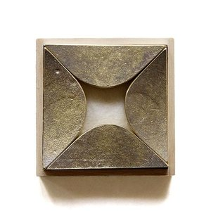 FUTAGAMI 真鍮の生活用品 箸置き 瞬き(4個入り) surouweb