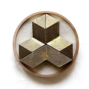FUTAGAMI 真鍮の生活用品 箸置き 結晶(3個入り) surouweb