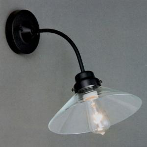 後藤照明 電柱型ブラケット(透明)アンティークランプ球60W付属(白熱球)|surouweb