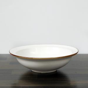 有田焼 JICON 磁今 浅リムスープ皿 小 渕錆 大治将典デザイン φ150×h46|surouweb