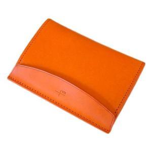 m+ カードケース FERMA MATI オレンジ|surouweb
