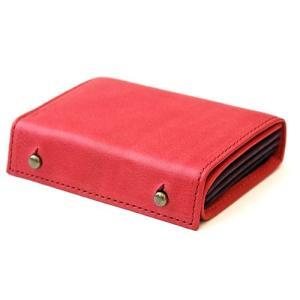 コンパクトな財布 m+ エムピウ MILLEFOGLIE2 Pig ローズ|surouweb