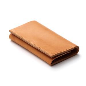 コンパクトな財布 m+ エムピウ straccio ストラッチョ ミネルバリスシオ サッビア|surouweb