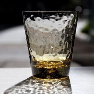 スガハラ グラス dimple  ディンプル  オールドグラス タン|surouweb