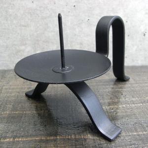 和ろうそくの燭台 手燭1(鉄製) surouweb