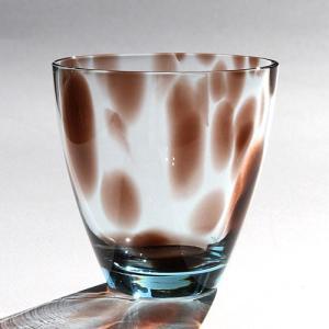 スガハラ グラス ヒョウ柄のグラス オールドグラス サイレントムーン|surouweb