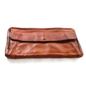 SyuRo シュロの革小物 長財布キャメル|surouweb