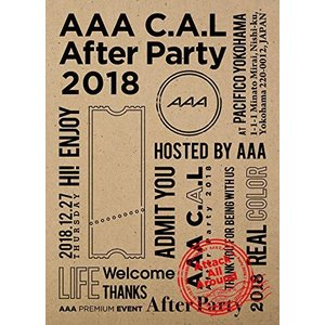 AAA C.A.L After Party 2018(Blu-ray) (Blu-ray(スマプラ対...