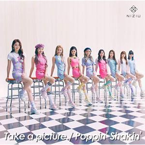 CD NiziU Take a picture Poppin' Shakin' CD+DVD 初回生産限定盤A