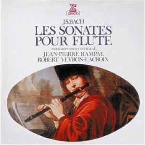 CD/ジャン=ピエール・ランパル/バッハ:フルート・ソナタ(全曲)