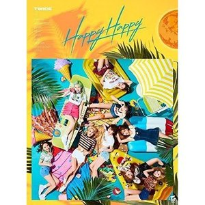 ▼CD/TWICE/HAPPY HAPPY (CD+DVD) (歌詞ブックレット) (初回限定盤A)