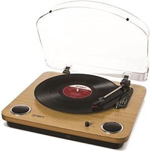 【送料無料】 ION Audio Max LP レコードプレーヤー USB端子 スピーカー内蔵 (取寄商品)|surpriseweb