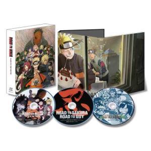 BD/キッズ/ROAD TO NINJA -NARUTO THE MOVIE-(Blu-ray) (本編Blu-ray+特典Blu-ray+CD) (完全生産限定版)