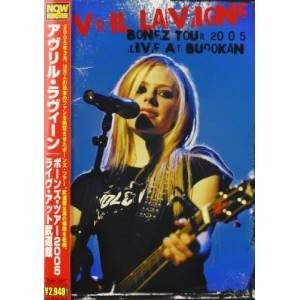 DVD/アヴリル・ラヴィーン/ボーンズ・ツアー2005 ライ...