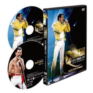 DVD/クイーン/クイーン ウィル・ロック・ユー (本編ディスク+特典ディスク)