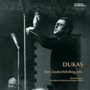CD/ハインツ・レーグナー/デュカス:交響詩「魔法使いの弟子」/ミヨー:バレエ音楽「世界の創造」 エネスコ:ルーマニア狂詩曲第1番 他 (UHQCD)