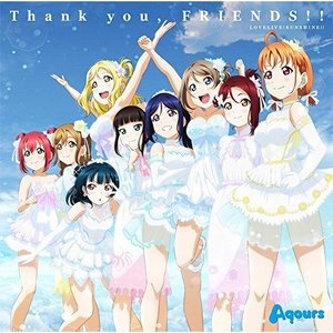 ☆CD/Aqours/Thank you, FRIENDS!!