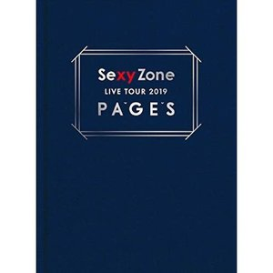 ▼DVD/Sexy Zone/Sexy Zone LIVE TOUR 2019 PAGES (本編ディスク+特典ディスク) (初回限定版)