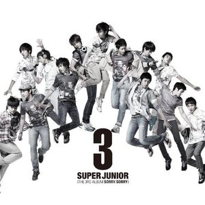 CD/Super Junior/第3集 SORRY,SORRY (CD+DVD)の画像