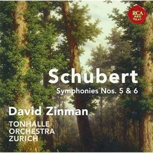 CD/デイヴィッド・ジンマン/シューベルト:交響曲全集(4) シューベルト:交響曲第5番&第6番(「小ハ長調」) (解説付)