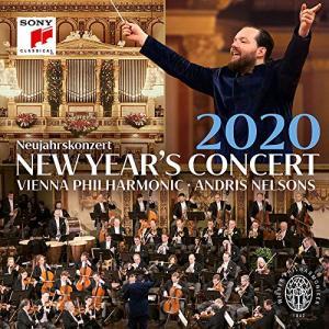 CD/アンドリス・ネルソンス&ウィーン・フィルハーモニー管弦楽団/ニューイヤー・コンサート2020 (解説付)