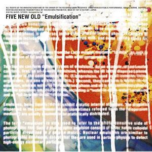 Emulsification (CD+DVD) (初回生産限定盤) FIVE NEW OLD 発売日...