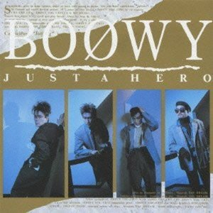 CD/BOOWY/JUST A HERO (Blu-spec...