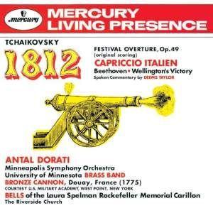 チャイコフスキー:大序曲(1812年) イタリア奇想曲 ベートーヴェン:ウェリントンの勝利(戦争交響...