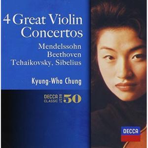 CD/チョン・キョンファ/メンデルスゾーン、ベートーヴェン、チャイコフスキー、シベリウス:ヴァイオリン協奏曲集 (SHM-CD)