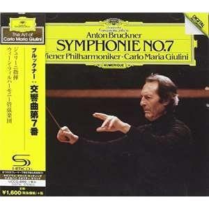 ブルックナー:交響曲第7番 (SHM-CD) ジュリーニ VPO 発売日:2019年4月24日 種別...