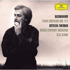 CD/ツィメルマン 小澤征爾/ラフマニノフ:ピアノ協奏曲第1番・第2番 (SHM-CD)