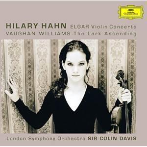 CD/ヒラリー・ハーン/エルガー:ヴァイオリン協奏曲 ヴォーン・ウィリアムズ:あげひばり (SHM-CD) (ライナーノーツ)