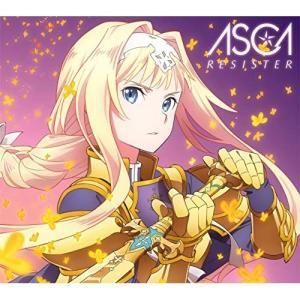 RESISTER (CD+DVD) (期間生産限定盤) ASCA 発売日:2019年2月27日 種別...