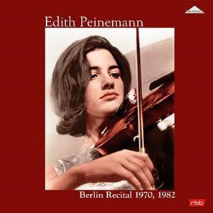 【取寄商品】LP(30cm)/エディト・パイネマン/パイネマン ベルリン・リサイタル1970・198...