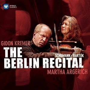 CD/アルゲリッチ&クレーメル/ベルリン・リサイタル (解説付)