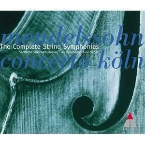 CD/コンチェルト・ケルン/メンデルスゾーン:弦楽のための交響曲全集 (解説付)|surpriseweb