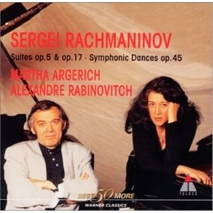 CD/マルタ・アルゲリッチ/ラフマニノフ:2台のピアノのための作品集|surpriseweb