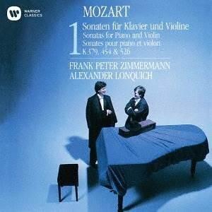 CD/フランク・ペーター・ツィンマーマン/モーツァルト:ヴァイオリン・ソナタ K379、454&526 (UHQCD) (解説付)